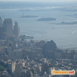 panorama di Manhattan