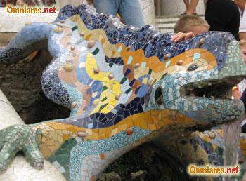 Drago di Parc Guell