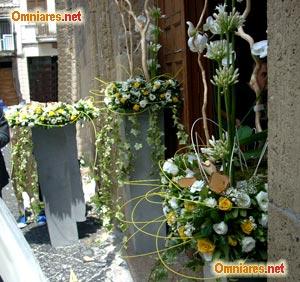 Come organizzare un matrimonio dall 39 abito da sposa alle - Addobbi floreali casa sposa ...