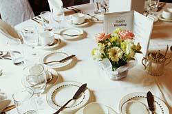 come apparecchiare i tavoli del matrimonio
