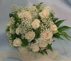 bouquet da sposa rose