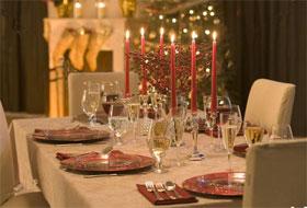 Decorazioni Sala Natale : Addobbare la tavola di natale