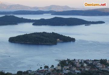 isole visibili da Nidri